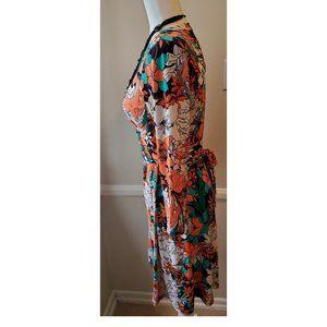 Anne Klein Dresses - Super sexy Anne  Klein New Hot Floral Wrap Dress S